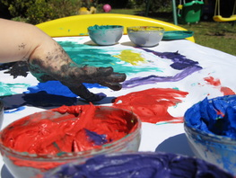 MW Finger Painting