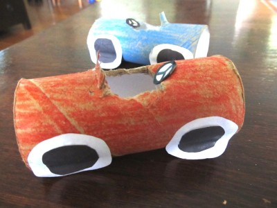 MW Toilet Roll Racing Cars3